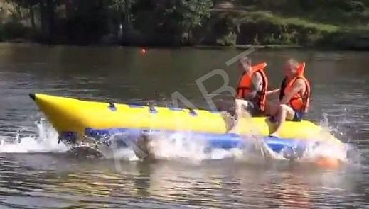 водные сани банан